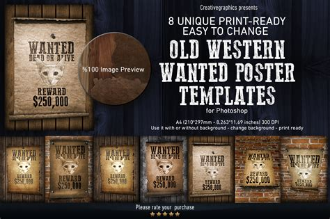 templates for wanted posters old west old western wanted poster templates templates on