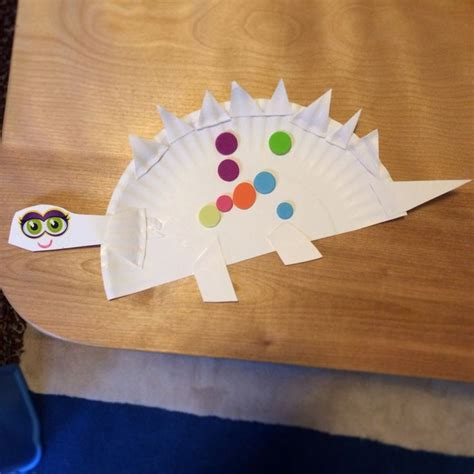 Stegosaurus Paper Plate Craft - 46 best paper plate crafts images on
