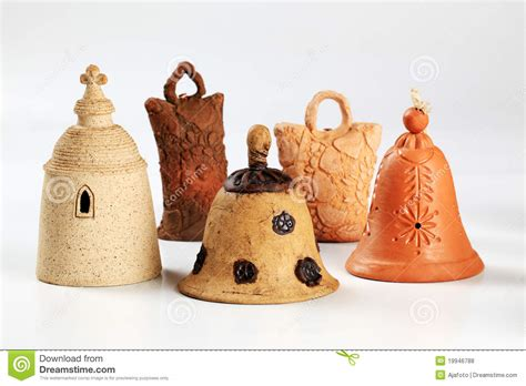 Handmade Bells - ceramic bells royalty free stock photos image 19946788