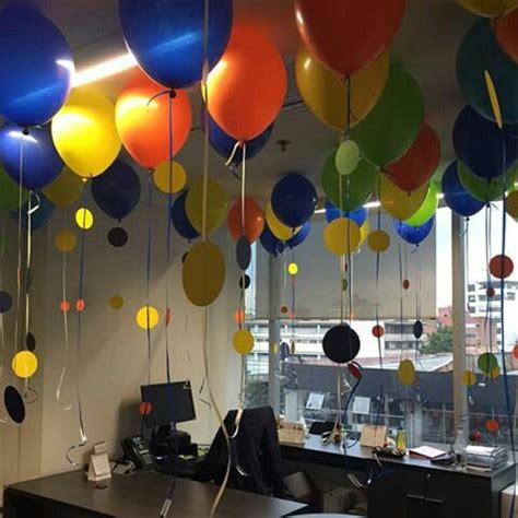 decoraci 243 n cumplea 241 os oficina diy stuff manualidades