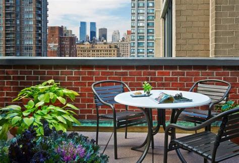 Affinia Gardens Nyc by Gardens Nyc Deluxe Suite With Terrace Foto Di Gardens