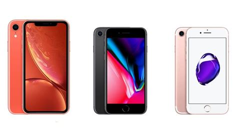 iphone 8 vs iphone xr iphone xr vs iphone 8 vs iphone 7 lohnt sich ein upgrade handy de