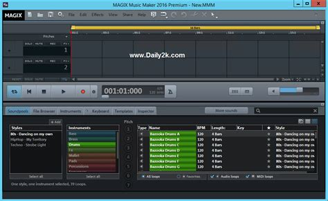 online house music maker magix music maker 22 0 3 63 crack 2016 download from daily2k