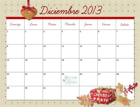 Calendario Diciembre 2013 Calendario 2013 Diciembre Navidad Ano Nuevo Calendario