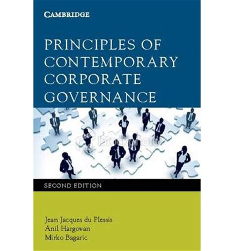 Principles Of Contemporary Marketing principles of contemporary corporate governance jean jacques du plessis 9780521138031