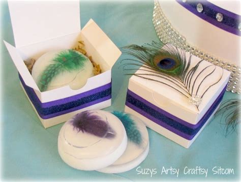 Wedding Favors Soap by Peacock Soap Wedding Favors