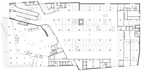 Basement Floor Plans With Bar Erick Van Egeraat Vershina Trade And Entertainment Centre