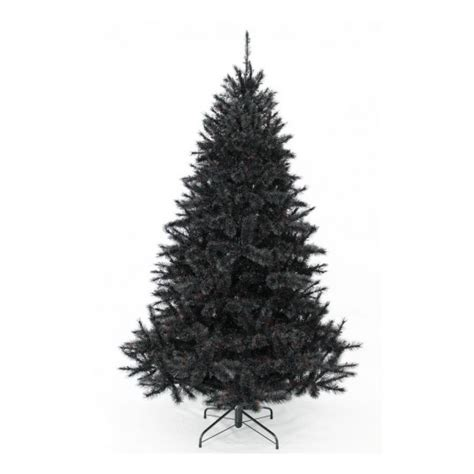 Sapin Artificiel Noir by Sapin Artificiel Bristlecone Noir 215 Cm Triumph Tree