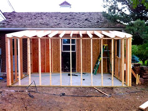 Shed Construction by How To Build A Storage Shed Attached To Your Home Jim