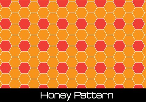 honey pattern vector honey seamless pattern vector download free vector art