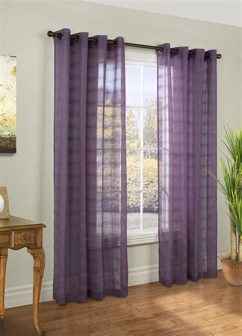 encore curtains encore bouncle grommet top sheer panel habitat