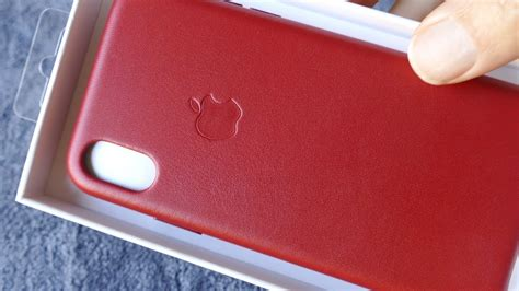 iphone  apple leather case red   uhd youtube