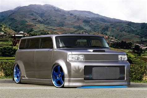 scion xb wide kit computer generated cars october 2006