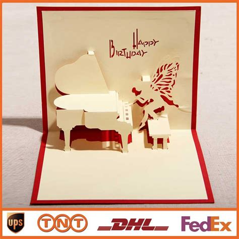 Handmade 3d Cards - aliexpress buy diy greeting cards blue handmade