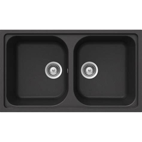 lavelli schock schock kitchen sink lithos n200 a 2 bowls cristalite