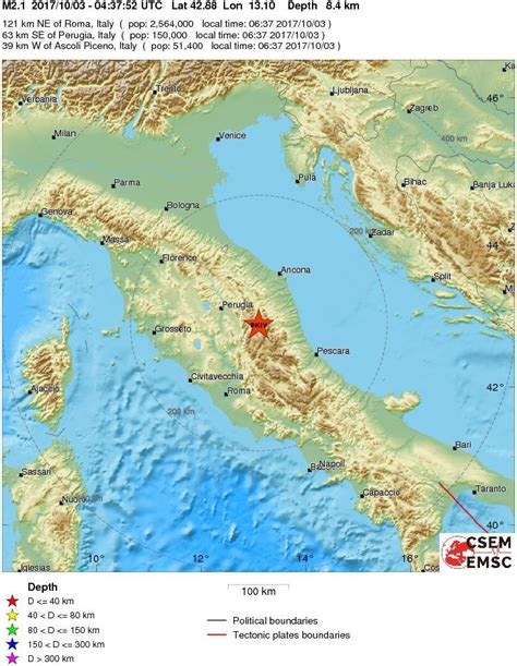 centro calabria terremoto scosse in centro italia e calabria il mattino