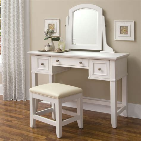 furniture add elegance white vanity table  suits