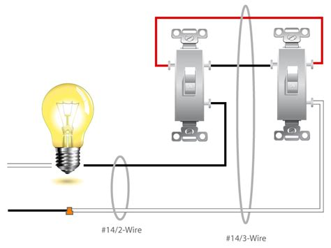 2wire light switch outlet wiring diagram 2 switches 1