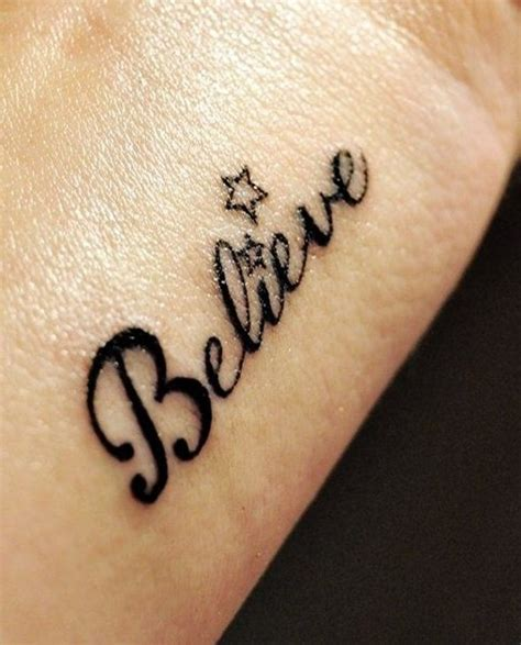 believe wrist tattoo 67 wrists for