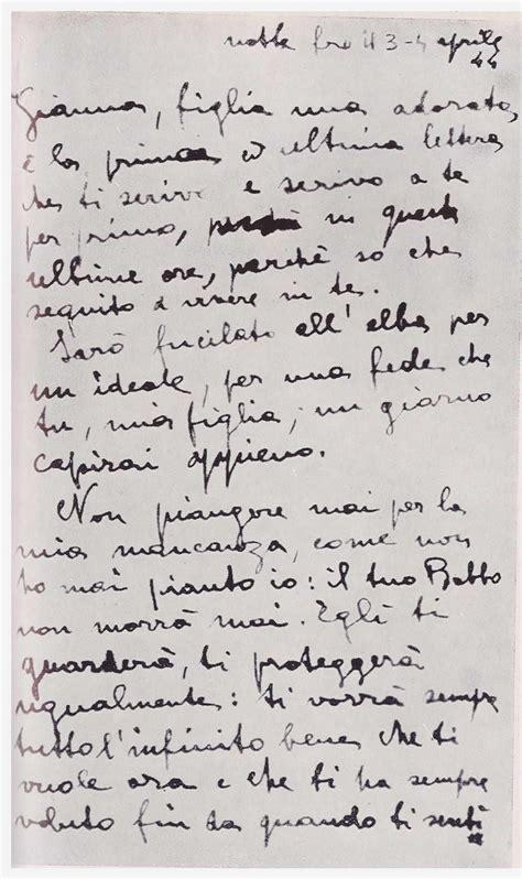 lettere partigiani 3 aprile 1944 una lettera prima dell ultima alba anpc