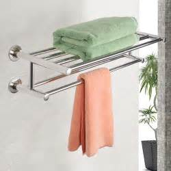 bathroom towel storage wall mounted wall mounted towel rack bathroom hotel rail holder storage
