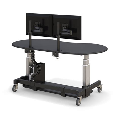 height adjustable computer desk modern height adjustable standing computer desk