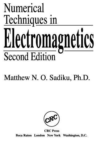 Download Free Advanced Electromagnetics Balanis Solution
