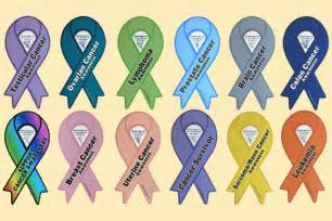 cancer color ribbon list of awareness ribbons colors and how to wear them