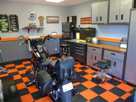 Harley Davidson Garage by Pin By K On Garage
