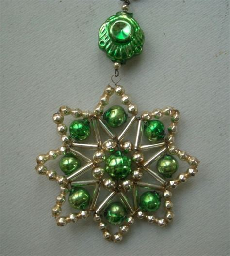 bead ornaments 556 best images about snowflake ornaments on
