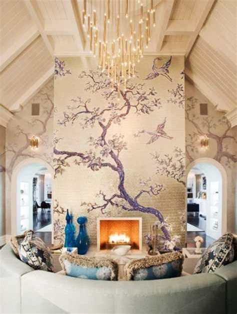 modern interior design with fresco wall murals inspired by 24 modern interior decorating ideas incorporating tree