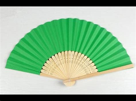 Paper Fan Origami - how to make origami paper fan paper craft fan 2016