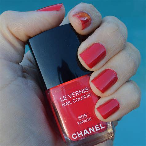 nail polish color for june 2014 chanel tapage nail polish for spring 2014 review bay