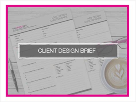 design brief library resource library client design brief this design girl