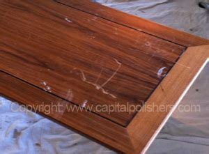 wood table scratch repair capital polishers ltd furniture spraying kitchen