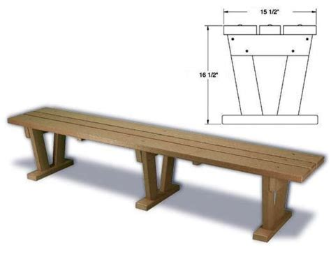 bench standard plastic benches eco friendly recycled plastic benches
