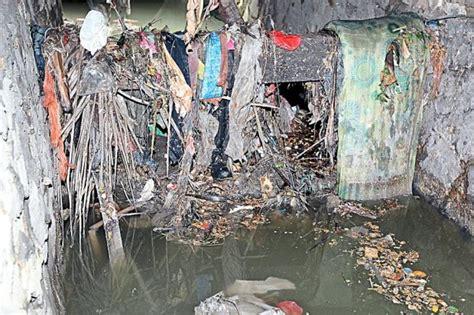 Keni Knee L Pvc 5 D Jaya clogged monsoon drain triggers frequent flashfloods on npe community the