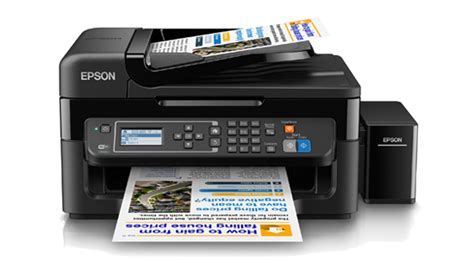 Printer Epson New new epson l565 4 in 1 inkjet colour printer with external ink tank automatic document feeder 2