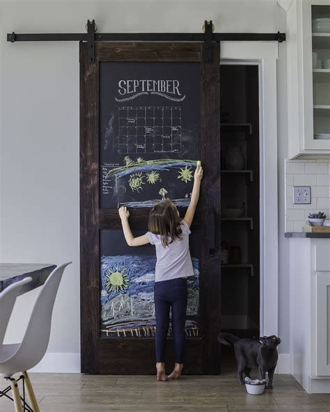 chalkboard barn door doors house and sliding barn doors