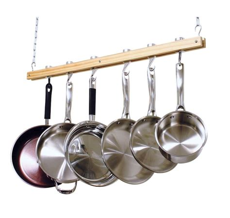 Pot Pan Hanger Ceiling Ceiling Mount Hanging Pot Pan Rack Organizer Storage