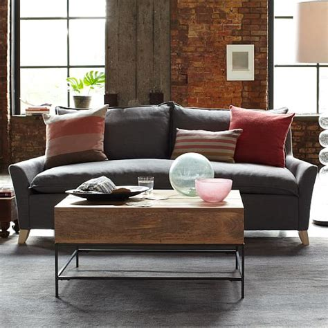 down filled sofa canada bliss sofa 79 5 quot west elm