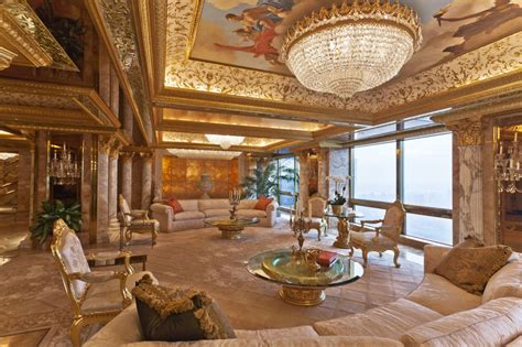 inside trumps penthouse donald trump house inside