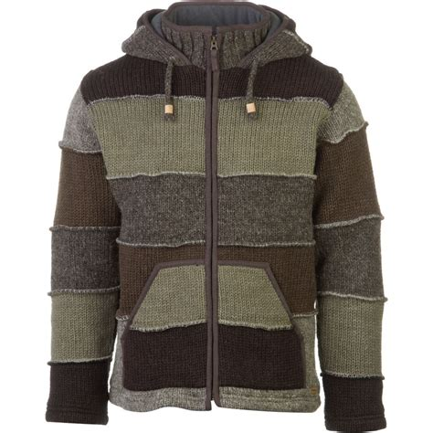 Patchwork Sweater - laundromat patchwork sweater mens backcountry
