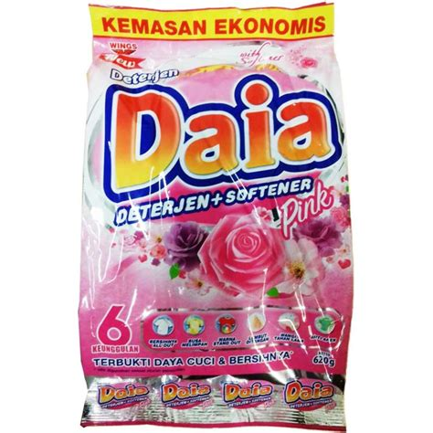harga spesifikasi daia violet sabun detergen softener