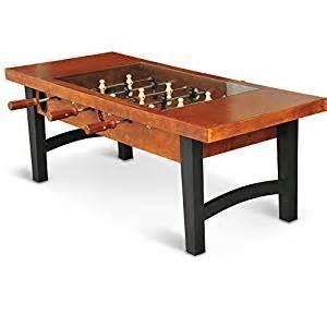 amazon com foosball table amazon com foosball soccer wooden coffee table with