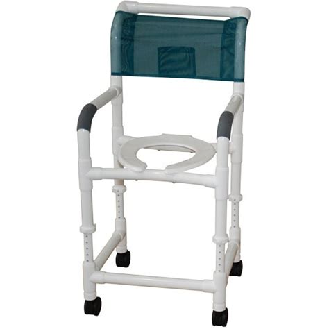 mjm 18 pvc shower chair adjustable height