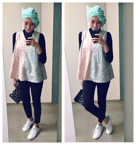 Blouse Batik Jumbo Abaya 3w syaifiena w h m adidas sneakers batik blouse lookbook