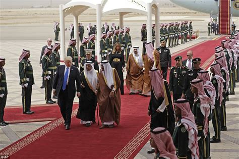 images the big counterterrorism counterfactual foreign donald trump lands in saudi arabia for big foreign trip