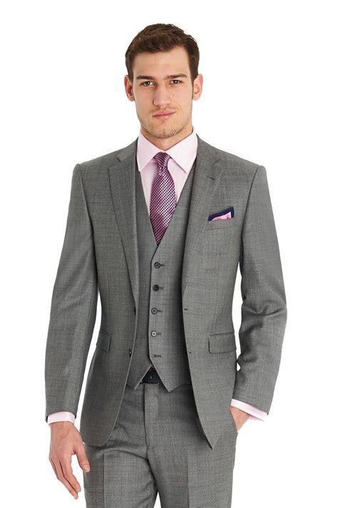 suit colors slim fit two buttons business suit coat pants vest tie 22