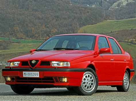 1992 alfa romeo 155 q4 related infomation specifications